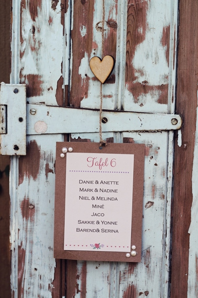 How cute - just hang them on an old rustic door and you are good to go.