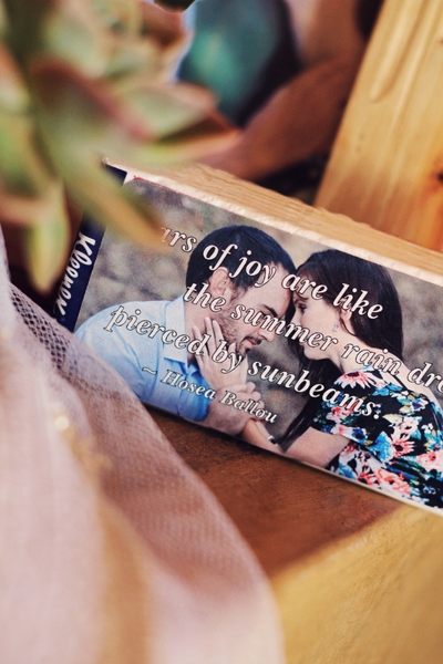 Stickers for tissue packs - for the tears that flow when the bride walks in...